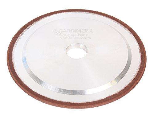 GARDINGER Diamant-Schleifscheibe für Sägekettenschärfgeräte 145 x 3,2 x 22 mm (Diamantscheibe Schleifscheibe)