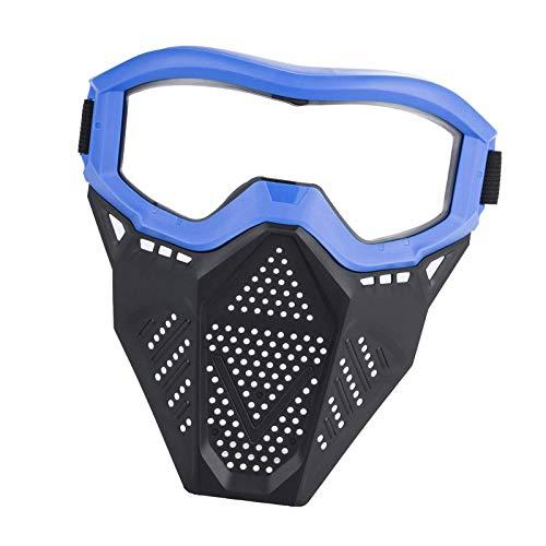 yahede Juego de Tiro de Seguridad para niños Protector Facial Juego al Aire Libre para niños Gafas Protectoras Gafas de Seguridad Gafas para Nerf NStrike Elite Gun Toy Gun Game Protección pretty
