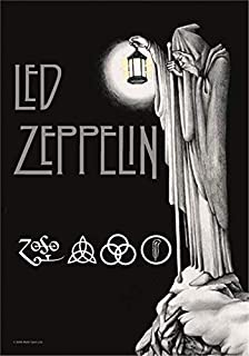 Heart Rock - Bandera original LED Zeppelin Stairway To, tela, multicolor, 110 x 75 x 0,1 cm