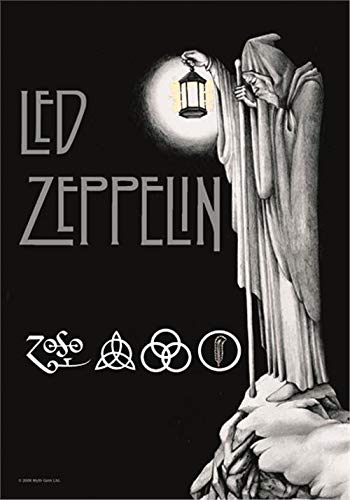 Led Zeppelin Stairway To Heaven Fabric Poster / Flag 44' x 22' (hr)