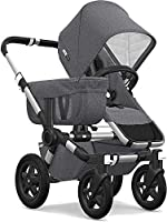 Bugaboo Donkey2 Complete Mono Stroller, the Most Spacious Foldable Stroller with the Option to Expand to a Double...
