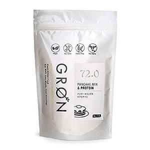 GRON パンケーキミックス & プロテイン 227g 【PANCAKE MIX & PROTEIN】 グルテンフリー ソイプロテイン ホットケーキミックス