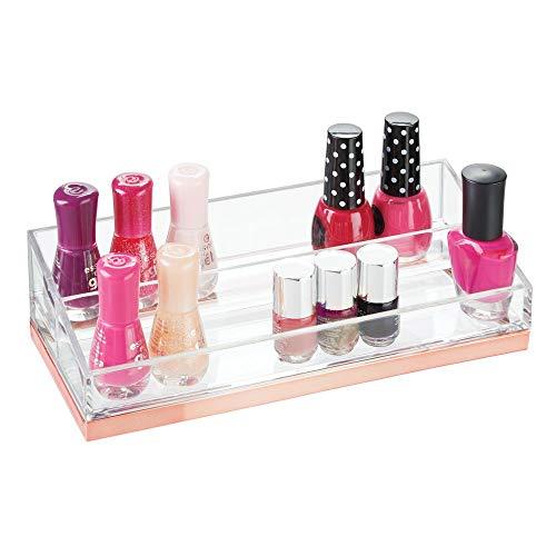 Pr/ésentoir de 6 /étag/ères en acrylique pour 66/flacons de vernis /à ongles Mobengo rangement pour maquillage ou bijoux