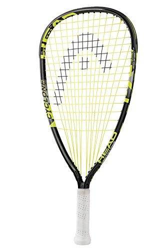 HEAD MX Cyclone 190 Club Racquetball Racket - Pre-Strung Head Light Balance Racquet