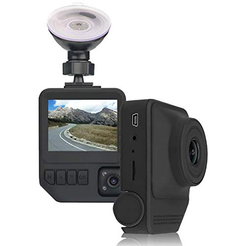 Dual Dash Cam Full HD-Amacam DC19 Night Vision DVR 1080P Superior Two...