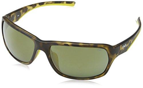 Fila SF9027 gafas de sol, Multicolor (PINK FLOWER PATTERN), Talla única para Hombre