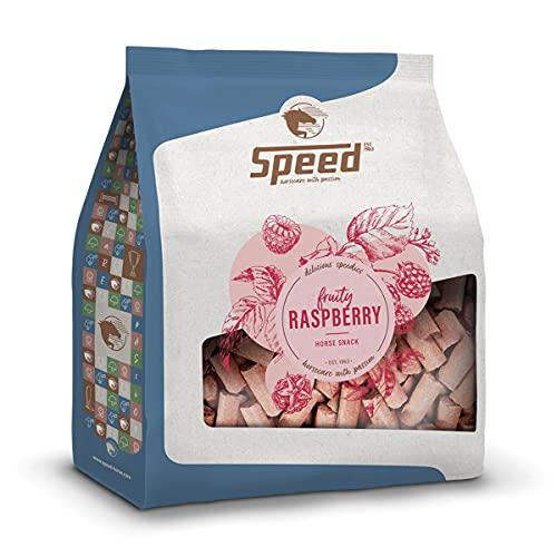 Speed Delicious speedies Raspberry, Pferdeleckerli mit Himbeergeschmack, fruchtiger Snack für jedes Pferd, Beste Zutaten, einfach praktisch (5 kg)