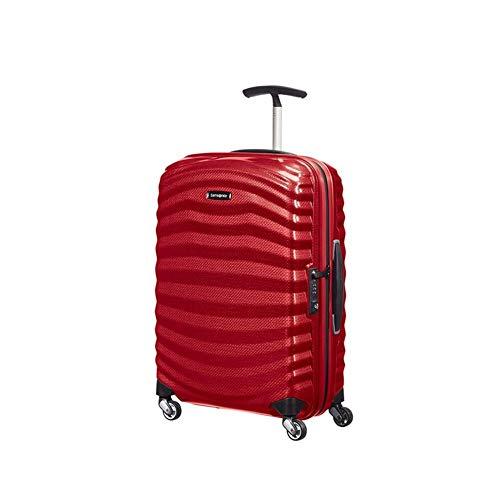 Trolley Rigido 55cm 4 Ruote Cabina Spin   Samsonite Lite-Shock   98V001-Chili Red