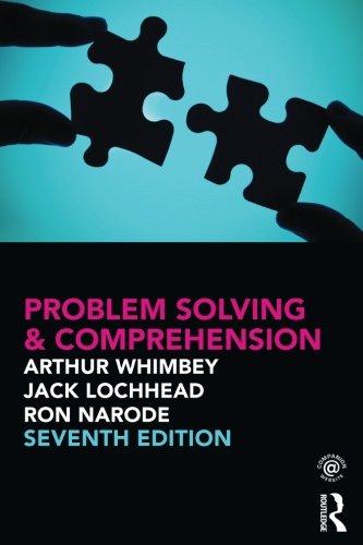 Problem Solving & Comprehension