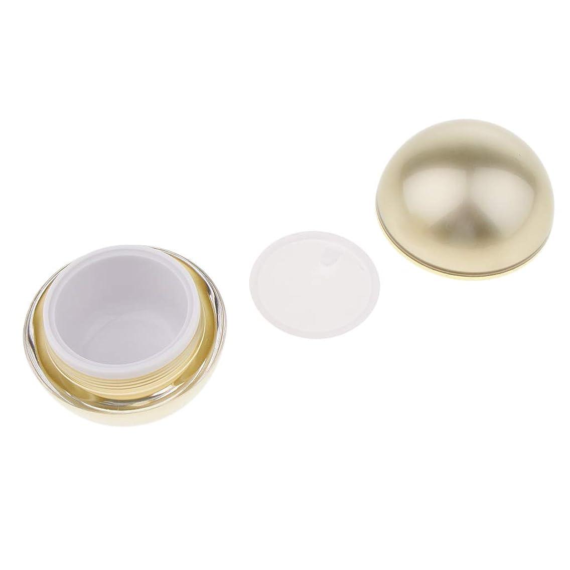 口ひげペースぬれたToygogo 化粧品 容器 クリーム容器 ボール型 空ポット 化粧ジャー 詰め替え式 3サイズ選べ - 50g