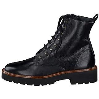 Paul Green 9815-017 Combat Boots, Schwarz