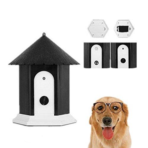 ECMQS Hund Ultraschall Anti Bellen Repeller Hund Outdoor Antibell Trainer Barking Stoppen Trainingsgerät Für Pet Hunde Liefert
