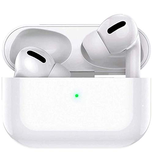 Wireless Earbuds Bluetooth 5.0 Headphones in-Ear Ear Buds with Mini Charging Case Stereo Noise Cancelling Earbuds IPX5 Waterproof Headphones Built-in Mic for iPhone/Android/Apple AirPods Pro
