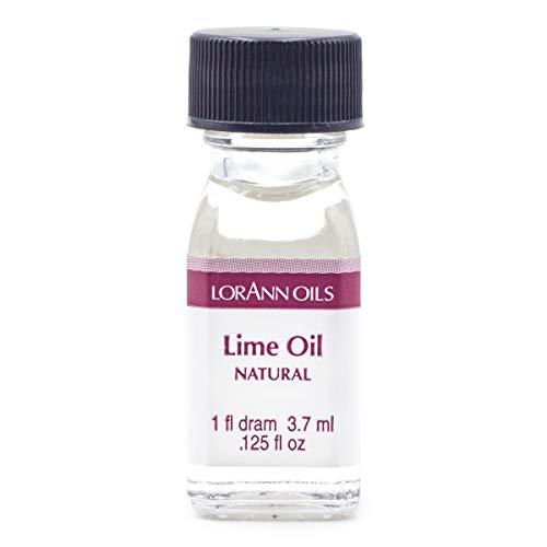 LorAnn Lime Oil SS, Natural Flavor, 1 dram bottle (.0125 fl oz - 3.7ml - 1 teaspoon)