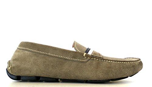 prada scarpe uomo Prada Scarpe Mocassino Uomo CAMOSCIO 2DD069 8M2 F0NPX06 Pietra Oltremare
