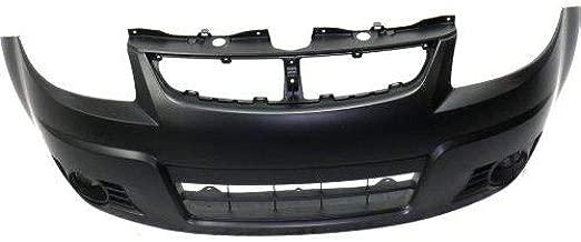 Go-Parts - OE Replacement for 2007 - 2012 Suzuki SX4 Front Bumper Cover (CAPA Certified) SZ1000135C Replacement For Suzuki SX4