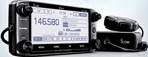 Radio Mobile Transceiver with Touch Screen, and GPS