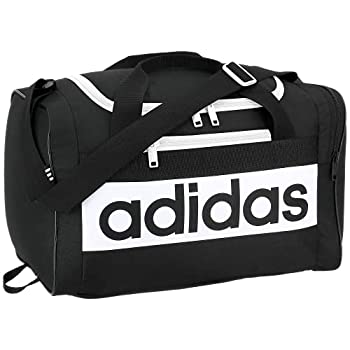 adidas Unisex Court Lite Duffel Bag Black/White ONE SIZE
