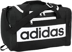 adidas Unisex Court Lite Duffel Bag, Black/White, ONE SIZE