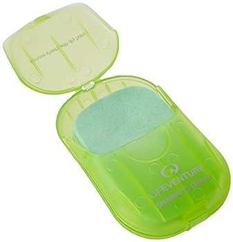 Lifeventure Shampoo Leaves x 50 Unisex-Adult, Green, Taille Unique