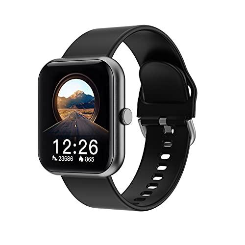 WPH El Nuevo Reloj Inteligente I8 para Hombres y Mujeres 1. Pantalla de Color IPS de 7 Pulgadas, IP67 Impermeable, Soporte de Bluetooth 5.0, RECORDATORIO DE INFORMACIÓN Link Android y iOS,B