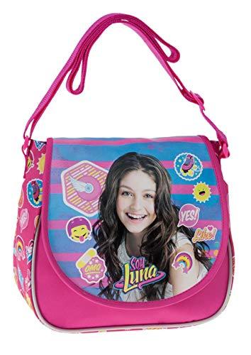 Disney Yo Soy Luna Bolso Bandolera, 4.01 litros, Color Rosa