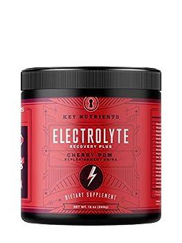 Electrolyte Powder Cherry-Pom Hydration Supplement  90 Servings Carb Calorie & Sugar Free Delicious Keto Replenishment Drink Mix 6 Key Electrolytes - Magnesium Potassium Calcium & More.