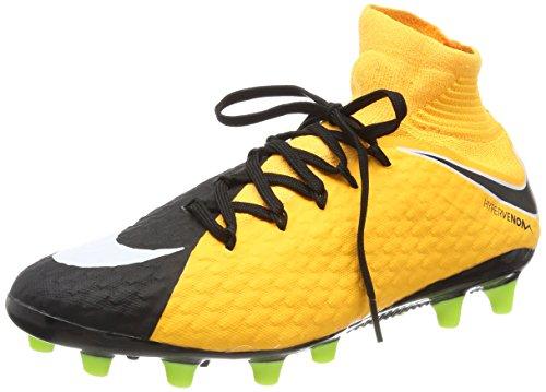 Nike Herren Hypervenom Phatal III Dynamic Fit AG-Pro Fußballschuhe, Orange (Laser Orange/White-Black-Volt-White), 42.5 EU