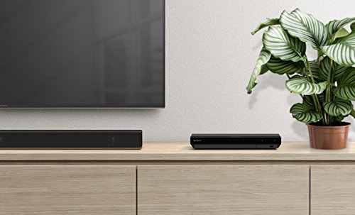 Sony UBP-X700 4K Ultra HD Blu-ray Disc Player (4K HDR, 4K Streaming Dienste, Super Audio CDs (SACD), USB, WiFi, HDMI) Schwarz
