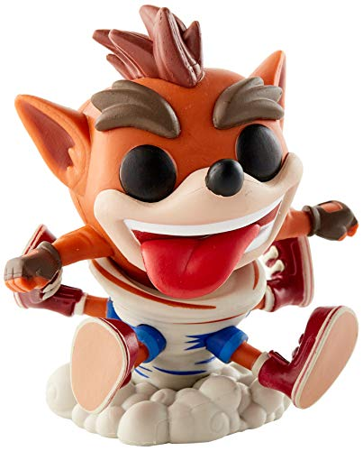 Funko - Pop! Games: Crash Bandicoot - Crash Figura De Vinil, Multicolor (43343)
