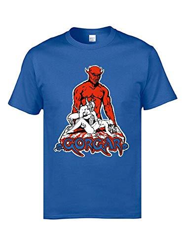 666 Demon Satan Villain Table Game Tshirts Pinball Classics Gorgar Video Game Tshirts Cotton Tops & Tees Pasen Day Men Funny