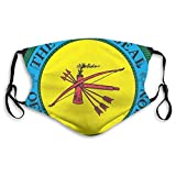 BSUDILOK The Choctaw Nation Face Covers for Men Women Cycling Camping Travel Sport Mouth Cover Facial Decorations