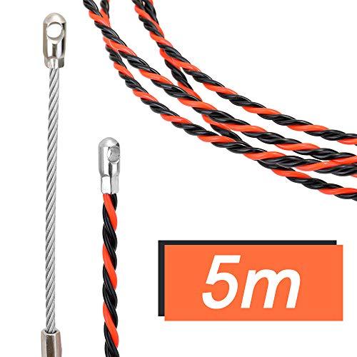Baugger Fish Tape Wire Puller - Rot und Schwarz - Rot und Schwarz Draht Einfädelkabel Lauf Puller Einfädelgerät LWL-Blei Bauwerkzeuge
