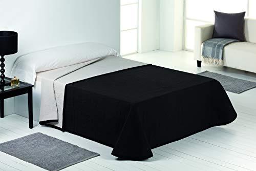 Vialman sprei, bruin, 150 cm brede bed: 250 cm x 270 cm