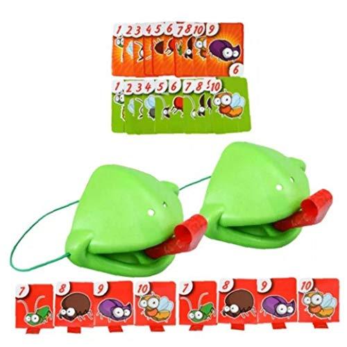 Mouth Frog Tomar Tarjeta Tongu Tic Insectos Lengeta De Estacionamiento Juego, Doble Juego Juegos Juegos De Mesa para Nios De Escritorio