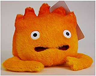 Sun Arrow Howl's Moving Castle S-2945 Calcifer Plush Figure Orange 14 cm