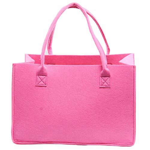 N-B Damen Filztasche Europäische und amerikanische Mode Big Bag Filztasche Simple Style Handtasche Shopping Geschenk Tasche