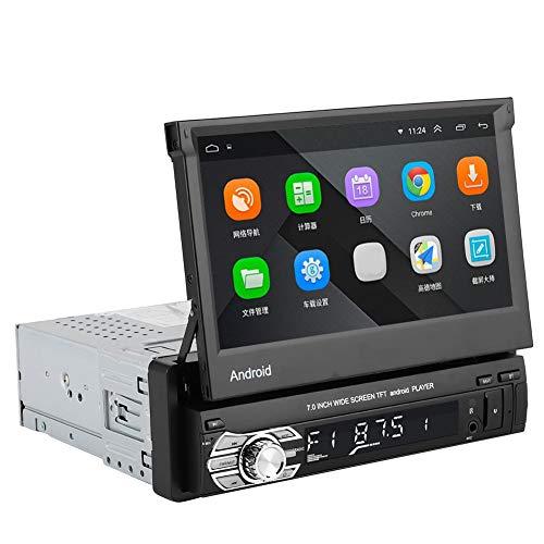7in WIFI HD Bluetooth MP5 Player GPS Navigatore Radio Monitor pieghevole per IOS/Android - Telecomando wireless Telecamera posteriore Controllo del volante