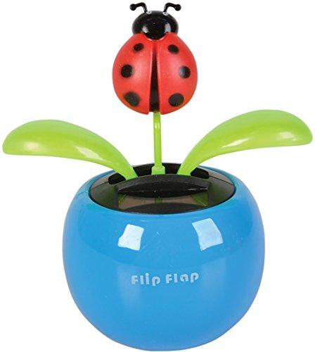 Rhode Island Novelty New Insect PVC Car Dashboard Bobbing Ladybug Bug Solar Toy
