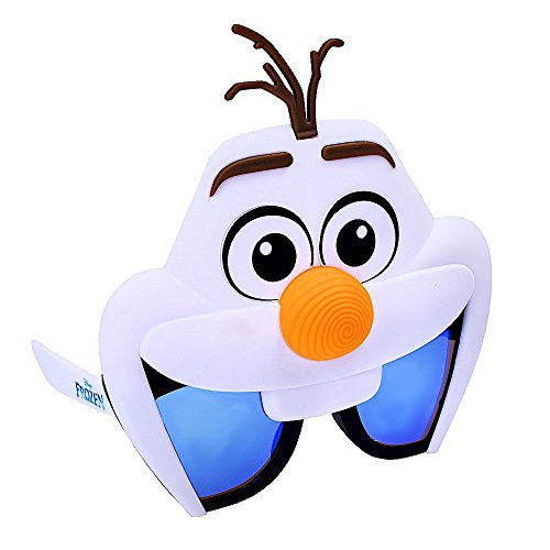 Sun Stache Gafas de Sol Frozen Olaf Party Favors UV400, Talla única