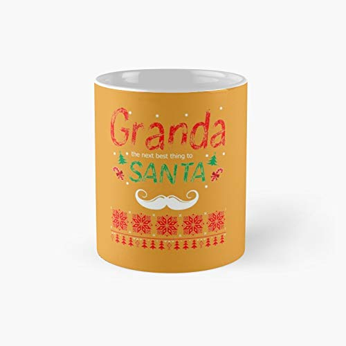 Granda The Next Best Thing To Santa Classic Mug - Taza de café (300 ml)