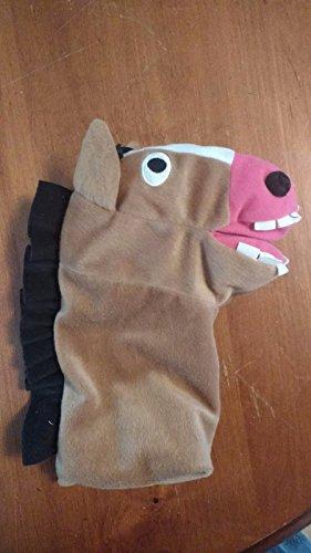 Ikea Hand Puppet Horse (aka- KlapperLantlig)