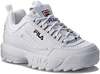 FILA DISRUPTOR SNEAKER SHOES - WHITE