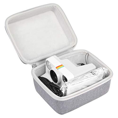 Khanka Hart Tasche Schutzhülle Für Polaroid Now/Originals One Step 2/OneStep+ Plus I-Type ViewFinder Sofortbildkamera. (Grau)