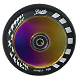 Liberty Pro Scooters- Single Series - 110mm Hollow Core Wheel (Neo Chrome - Oil Slick) - Single Wheel
