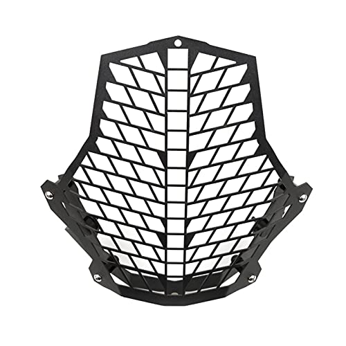 Gzcfesbn Protector de Faros de la Motocicleta Protector de protección de la Cubierta para KTM 1190 Adventure / 1190R 1290 Super Adventure 2015 2016 HSGZC (Color : Black)