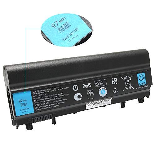 LQM 11.1V 97Wh New Laptop N5YH9 Battery for Dell Latitude E5540 E5440,Compatible P/N:312-1351 VJXMC VVONF N5YH9 0M7T5F 0K8HC 1N9C0 7W6K0 VV0NF F49WX NVWGM CXF66 WGCW6