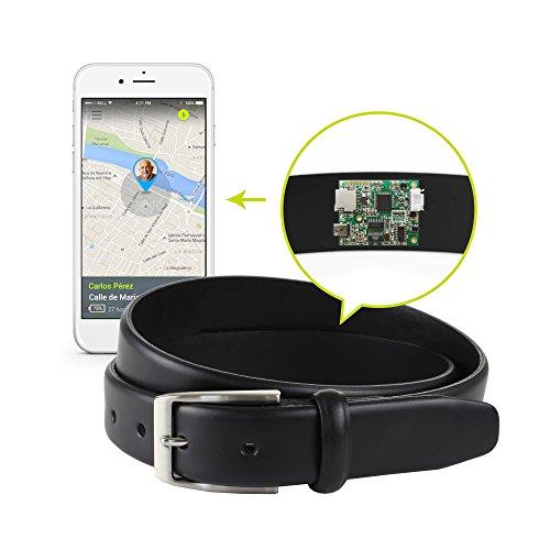 Cinturón Localizador GPS Neki Abuelos Alzheimer (100 cm de Cintura, Talla 40)