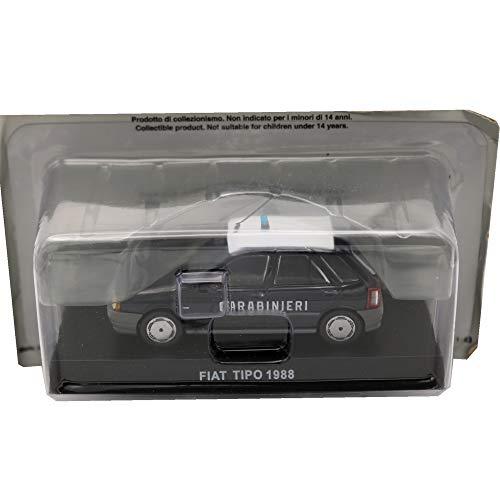 Die Cast Modellino Auto Carabinieri Fiat Tipo 1988 - Scala 1:43 - Blu