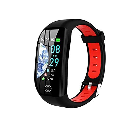 LLM F21 Smart Armband GPS Distanz-Fitness-Aktivitätstracker IP68 Wasserdicht Blutdruck mit Schlafüberwachung Smart Watch Armband (C)